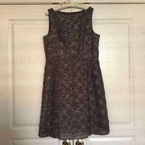Gorgeous taupe Special occasion dress. Worn once.